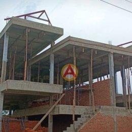 รีวิว อิฐแดง 4 รู ใหญ่ ขนาด 6x6x15 ซม. หน้างานบ้านคุณปรีชา จ.ชลบุรี