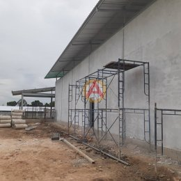 อิฐตันเครื่อง หน้างาน โครงการก่อสร้างสถานี NGV อ.แปลงยาว จ.ฉะเชิงเทรา