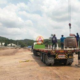 อิฐแดง 4 รู หน้างาน ห้างหุ้นส่วนจำกัด บ้านวิศวะอุดร จ.ชลบุรี