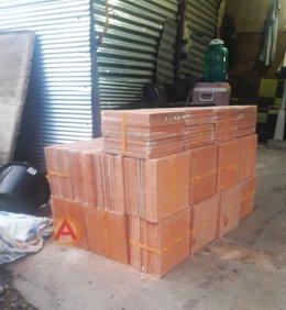 กระเบื้องปูพื้น ขนาด 20x20 ซม. ID507 หน้างาน หาดวอน อ.เมือง จ.ชลบุรี