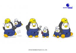"""Systemform Co.,Ltd."" Mascot Design"