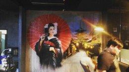 """Sushi Mania"" Graffiti Painting"