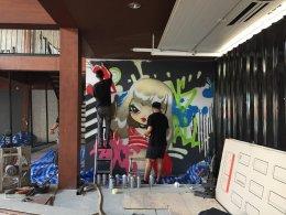 """""""็House Ekkamai"""" Graffiti"""