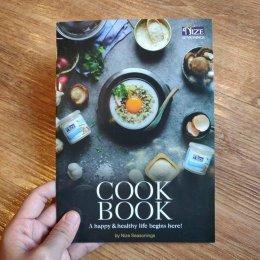 """Nize Seasoning"" Cookbook Design"