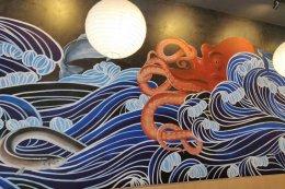 """Hatsu Se"" Wall Painting"