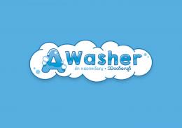 """Awasher"" Logo Design"