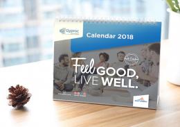 """""""Gyroc Thailand"""" Calendar Design"""