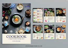 """Nize Seasoning"" Cookbook Design"