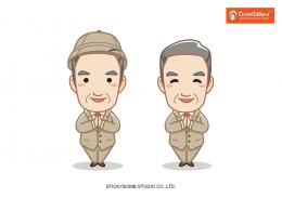 """""""ปึง หงี่ เชียง"""" Mascot & Sticker Line"""