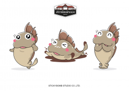 "Mascot Design for ""สถานีแม่กลอง"""