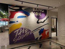 """Novotel Siam Square"" Wall Painting"