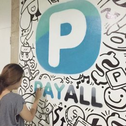 """""""Payall"""" Wall Painting"""