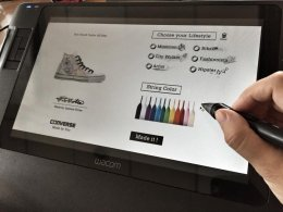 "GUI Design for ""Converse design your own event"""