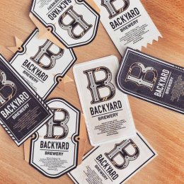 Backyard Brewery Logo and Packaging Design