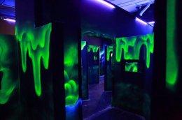 """Lazer Strike"" Glow in the dark graffiti project"