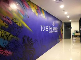 """""""137 Pillars Suites & Residences"""" Wall Painting"""