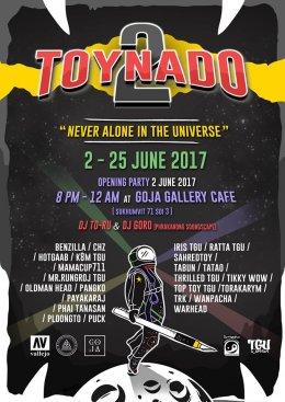 """Toynado 2 Exhibition"" Poster Design"