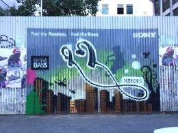 """Sony"" Graffiti Advertising"