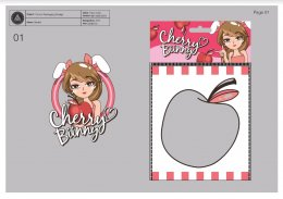 """Cherry Bunny"" CI & Packaging Design"