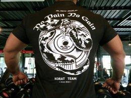 """Black Gym"" T-Shirt Design"