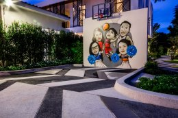 """Family Portrait"" Graffiti Painting"
