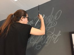 """Ink Society Tattoo Studio"" Wall Painting (มี VDO การทำงานด้านใน)"