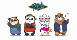 """Panda Night Market"" CI & Mascot Design"