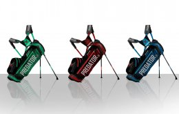 """Predator"" Golf Bag & Character Design"
