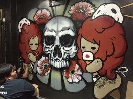 """Japanese Tattoo"" Graffiti"