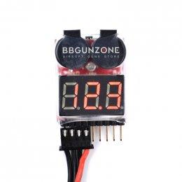 Alarm Battery Li-po 2-8S Buzzer