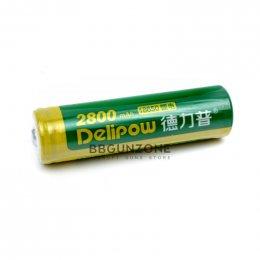 Delipow ถ่านชาร์จ 18650 จำนวน 1 ก้อน