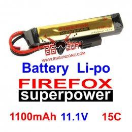 FireFox 11.1V 1100mAh 15C Li-po