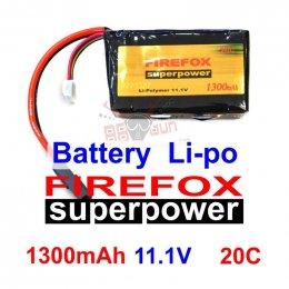 FireFox 11.1V 1300mAh 20C Li-po