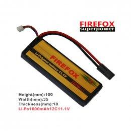 FireFox 11.1V 1600 mAh 12C Li-po