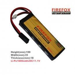 FireFox 11.1V 1600 mAh 20C Li-po
