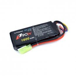 POW 11.1V 1600mAh 20C Li-po