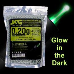 ลูกกระสุนเรืองแสง YESGUNS 0.20g Tracer Glow in the Dark
