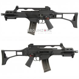 WE 999C G36C GBB Rifle Black