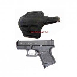 ซองปืนสั้น Glock 26 / 27 แข็ง เข้ารูป