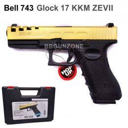 Bell 743 Glock 17 KKM ZEVII