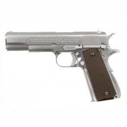WE M1911A1 Sv Brown Grip