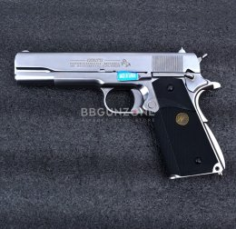 WE 1911 MEU Black Grip Marking CNC