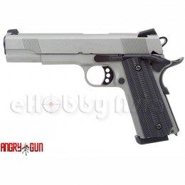 Angry Gun (Unicorn) 1911 Custom (Stainless Steel Silver)