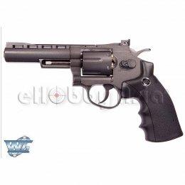 WinGun ปืนลูกโม่ .357 Magnum 4 นิ้ว Sport 701 Co2 Revolver BK