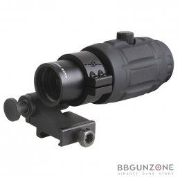 Vector Optics 4x Magnifier with Flip Side Mount
