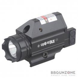Vector Optics Double Cross Compact Red Laser ไฟฉาย+เลเซอร์