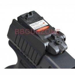 Laser Sight สำหรับ Glock สีแดง
