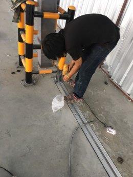 รูปติดตั้ง Floor Expansion Joint @ คลังสินค้า จิ้นเซ่งฮวด