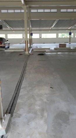 ติดตั้ง Car Park Joint ที่อาคารจอดรถพระที่นั่งอัมพรสถาน
