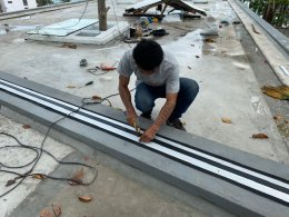 ติดตั้ง Roof Joint @ Hyatt Regency เกาะสมุย
